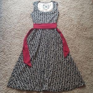 Effie's Heart Louvre Midi Dress Small